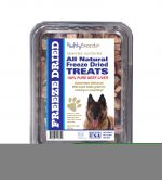 Healthy Breeds 840235148432 10 oz Belgian Tervuren All Natural Freeze Dried Treats Beef Liver