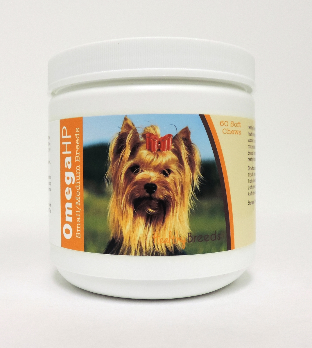 Healthy Breeds 840235199991 Omega-3 Fatty Acids Skin & Coat Soft Chews