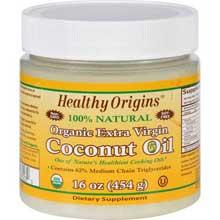 Healthy Origins 1583954 16 oz - Organic Extra Virgin Coconut Oil