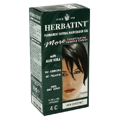 Herbatint 72417 4c Ash Chestnut Hair Color