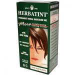 Herbatint Permanent Herbal Haircolour Gel 6C Dark Ash Blonde - 135 Ml - SPK-958843