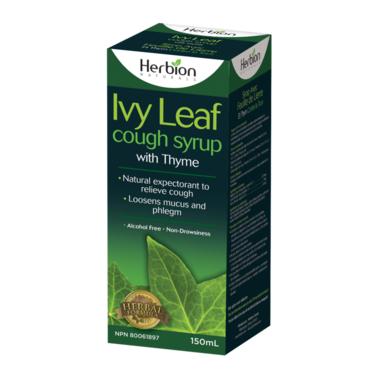 Herbion Naturals 582012 5 oz Ivy Leaf Cough Syrup