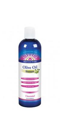 Heritage Store 1163963 Shamp Olive Oil Unscented - 12 oz