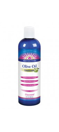 Heritage Store 1163997 Cond Olive Oil Unscented - 12 Fl oz