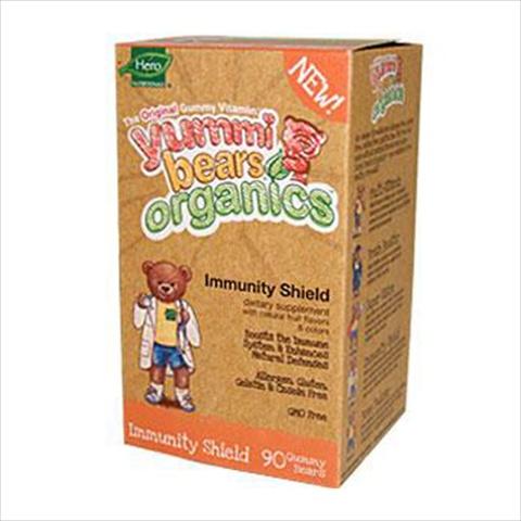 Hero Nutritional Products Organic Yummi Bears Immunity Shield 90 Gummy Bears - 90 Ct