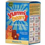 Hero Nutritional Products Yummi Bears Vitamin D 60 count Vitamins & Supplements 222242