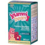Hero Nutritional Products Yummi Bears Whole Food & Antioxidants Vitamins & Supplements 90 count 206266