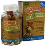 Hero Nutritionals 822668 Yummi Bears Organic Multi Vitamin