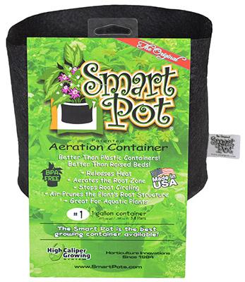 High Caliper Growing 10001 Gallon Black Patented Small Smart Pot
