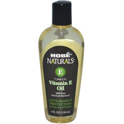 Hobe Laboratories 0995514 Vitamin E Oil 7 500 IU 4 fl oz - 118 ml - 4 oz