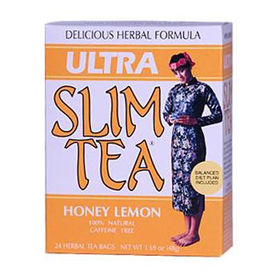 Hobe Labs Ultra Slim Tea Honey Lemon - 24 Tea Bags