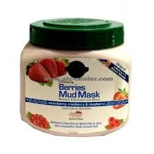 Hollywood Style 52300 21 oz Exfoliating Berries Mud Mask in Jar