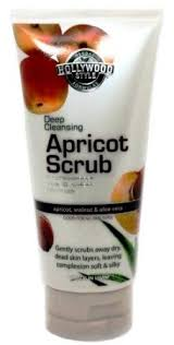 Hollywood Style 75501 Deep Cleansing Apricot Scrub in Tube