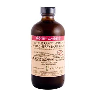 Honey Gardens Apiaries Honey Wild Cherry Bark Syrup - 8 fl oz