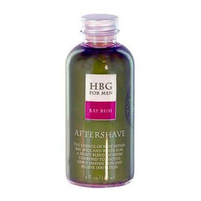 Honeybee Gardens 0418319 Herbal Aftershave Bay Rum - 4 oz