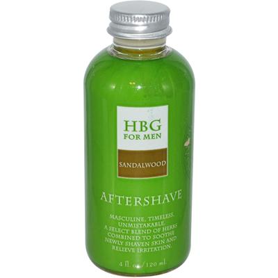 Honeybee Gardens Herbal Aftershave Sandalwood - 4 fl oz