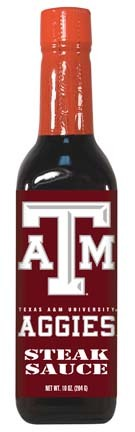 Hot Sauce Harrys 2239 TEXAS A & M Aggies Steak Sauce - 5oz