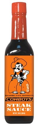 Hot Sauce Harrys 2249 OKLAHOMA STATE Cowboys Steak Sauce - 5oz