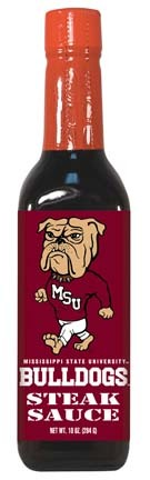 Hot Sauce Harrys 2252 MISSISSIPPI STATE Bulldogs Steak Sauce - 5oz