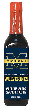 Hot Sauce Harrys 5010 MICHIGAN Wolverines Steak Sauce - 10oz