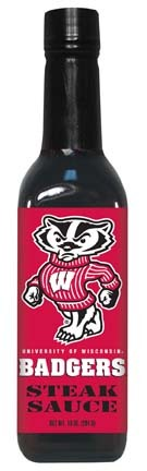 Hot Sauce Harrys 5030 WISCONSIN Badgers Steak Sauce - 10oz