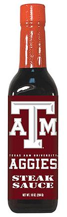 Hot Sauce Harrys 5039 TEXAS A & M Aggies Steak Sauce - 10oz