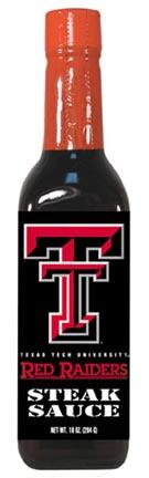 Hot Sauce Harrys 5044 TEXAS TECH Red Raiders Steak Sauce - 10oz