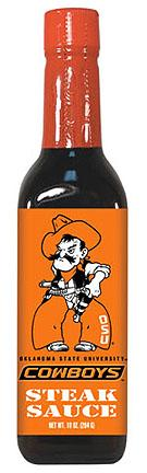 Hot Sauce Harrys 5049 OKLAHOMA STATE Cowboys Steak Sauce - 10oz