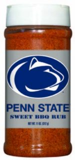 Hot Sauce Harrys 6513 PENN STATE Nittany Lions Sweet BBQ Rub - Pint