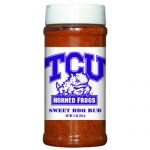 Hot Sauce Harrys 6555 11 oz Texas Christian Horned Frogs NCAA Sweet BBQ Rub