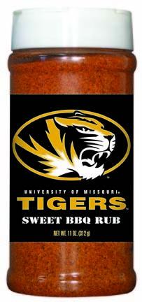 Hot Sauce Harrys 6559 MISSOURI Tigers Sweet BBQ Rub - Pint