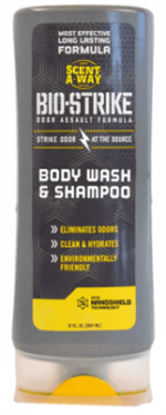 Hunters Specialties 07911 12 oz Biostrike Body Wash & Shampoo