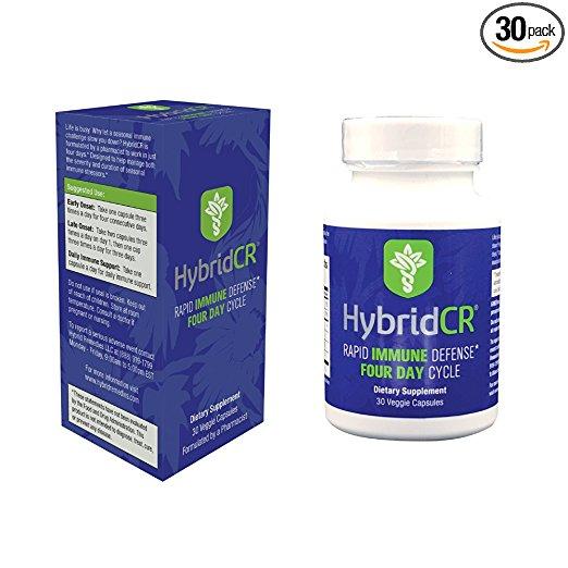 Hybrid Remedies 399303 HybridCR Rapid Immune Defense