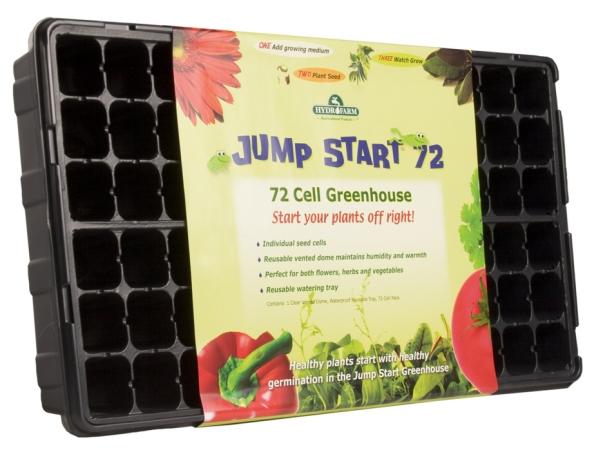 Hydrofarm 72 Cell Jumpstart Greenhouse JS72CG