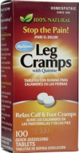 Hyland Homeopathy 56602 Leg Cramps With Quinine