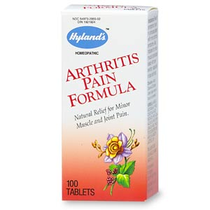 Hylands Homeopathic Combinations Arthritis Pain Formula Pain 100 tablets 215428