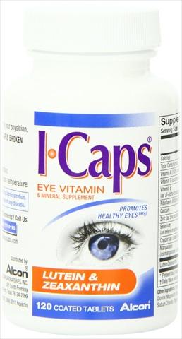 ICAPS Eye Vitamin Lutein & Zeaxanthin 120 Count