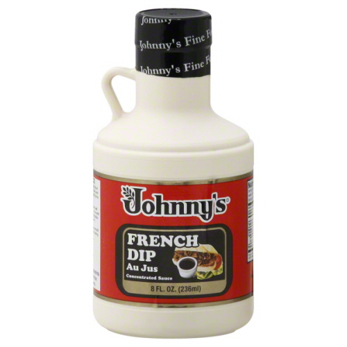 JOHNNYS FINE FOODS AU JUS FRNCH DIP-8 OZ -Pack of 6