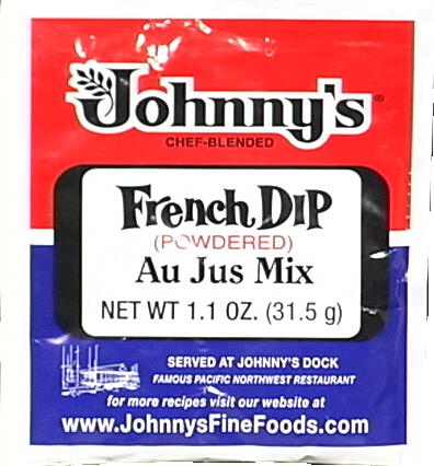 JOHNNYS FINE FOODS AU JUS POWDER-1.1 OZ -Pack of 12