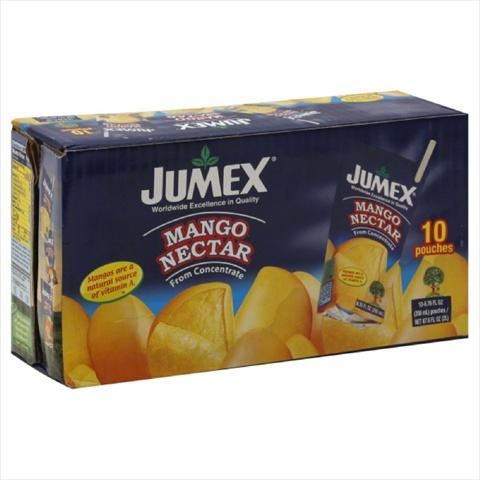 JUMEX JUICE TETRA PCH MANGO 10PK-67.6 OZ -Pack of 4