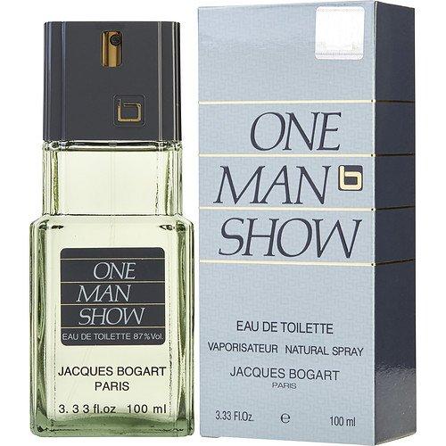 Jacques Bogart 20038392 3 oz One Man Show Eau De Toilette Spray for Men