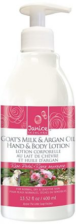 Janice Skincare 122 Goat Milk & Argan Oil Rose Petal Lotion