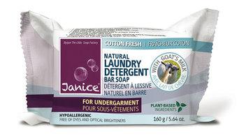 Janice Skincare 137 Laundry Detergent Bar Soap for Undergarments Fine Fabrics - Cotton Fresh