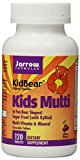 Jarrow Formulas 232304 KidBear Kids Multi-Vitamin Cherry Flavored - 120 Chewable Tablets