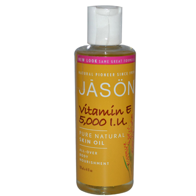 Jason Natural Products 0514026 Vitamin E Pure Natural Skin Oil - 5000 IU - 4 fl oz