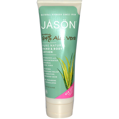 Jason Natural Products 0948380 Hand and Body Lotion Aloe Vera - 8 fl oz