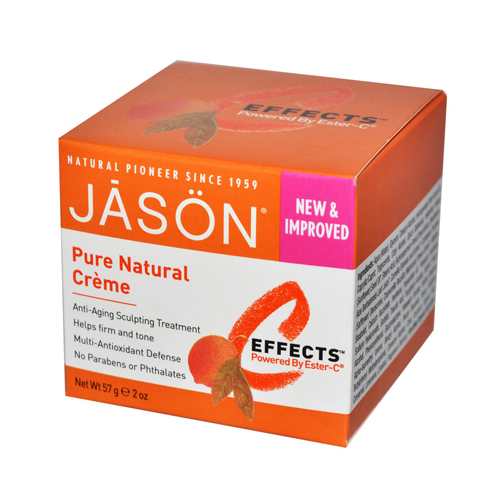 Jason Natural Products 170340 Jason Pure Natural Creme C Effects Powered By Ester-C - 2 oz