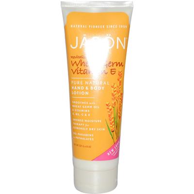 Jason Pure Natural Wheat Germ Vitamin E Hand And Body Lotion - 8 Fl Oz