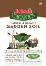 Jobes Soils 972166 1 cu. ft. Organic Natural & Organic Garden Soil Bag