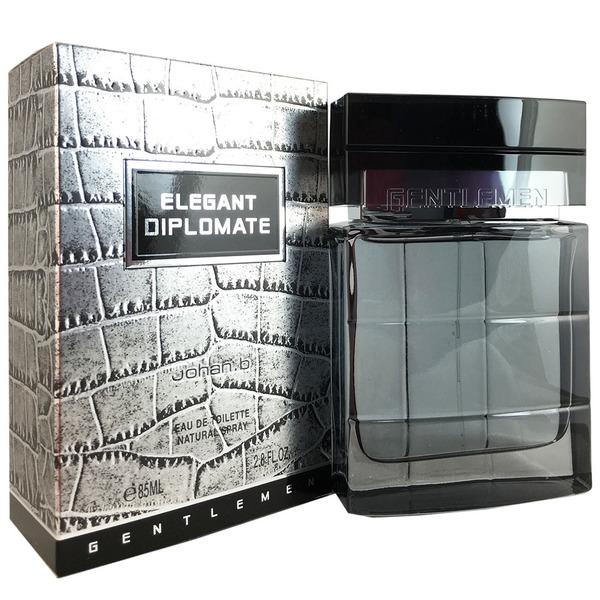 Johan.b ameldjb28s 3.4 oz Elegant Diplomate Eau De Toilette Spray for Men